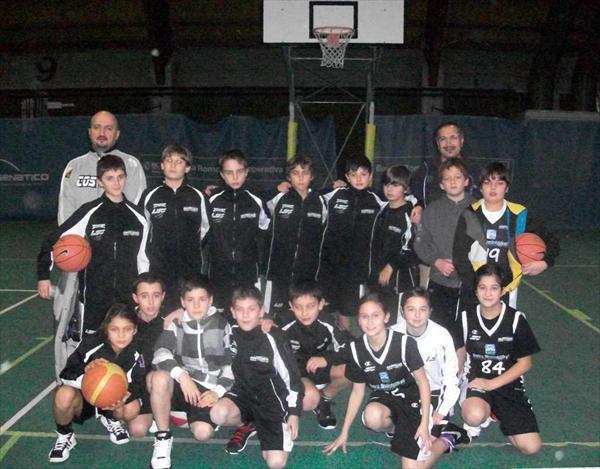 La squadra degli Esordienti giunta 7^ al Torneo di Cesenatico