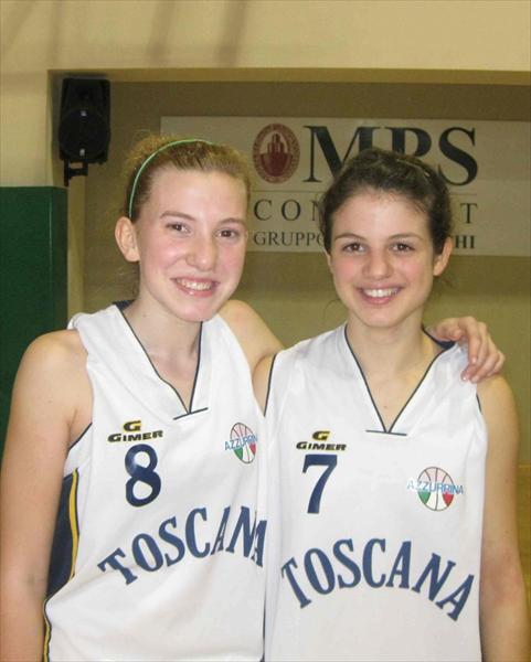 Le due ragazze dell'Apf Costone convocate per Azzurrina