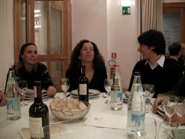 Giulio con la mamma e Patrizia Morbidi