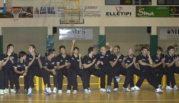 La squadra maschile del Costone