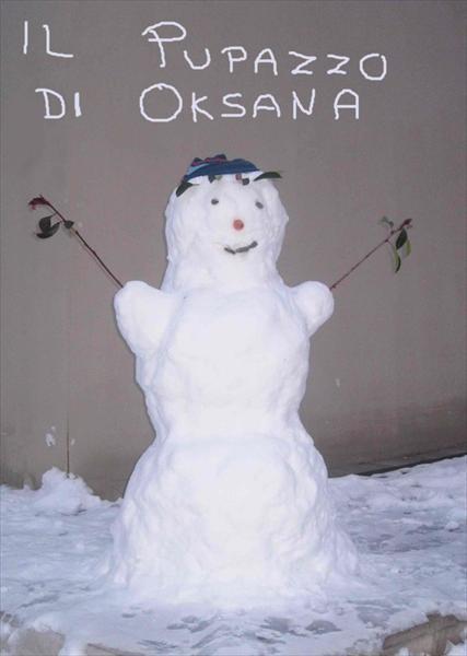Pupazzo di Oksana