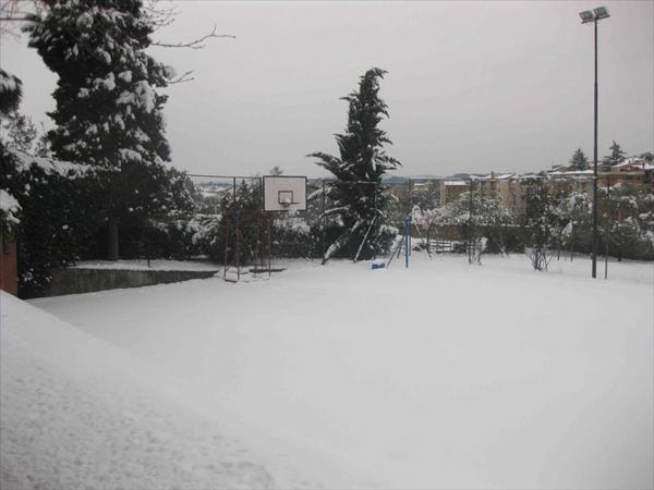 Costone con la neve