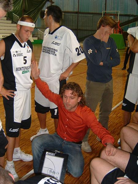 Coach Maurizio Tozzi