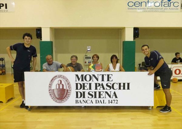 Gli arbitri Minnella e Monciatti e gli ufficiali di campo Cannoni, Zani, Corbini, Paciotti,