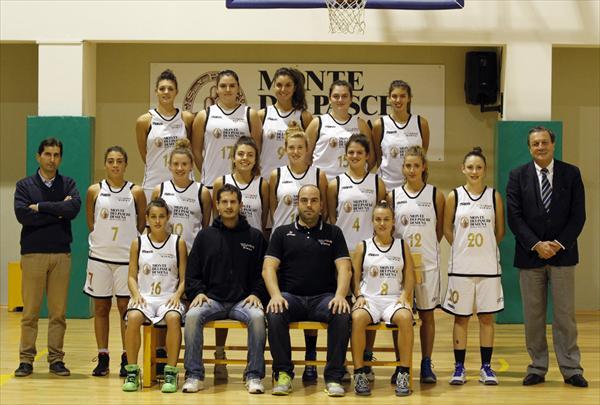 La squadra MPS Costone femminile