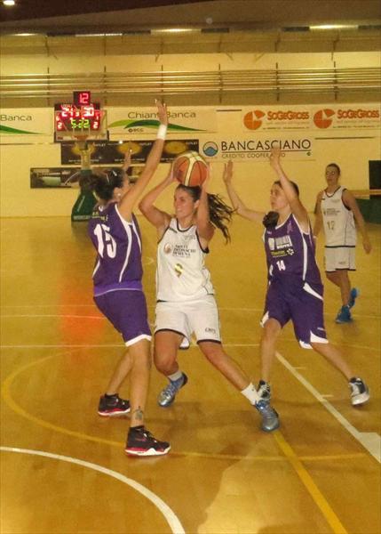 Anna Oliva in azione