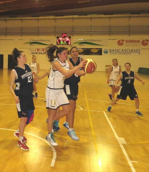 Bianca Nardi alla caccia del pallone