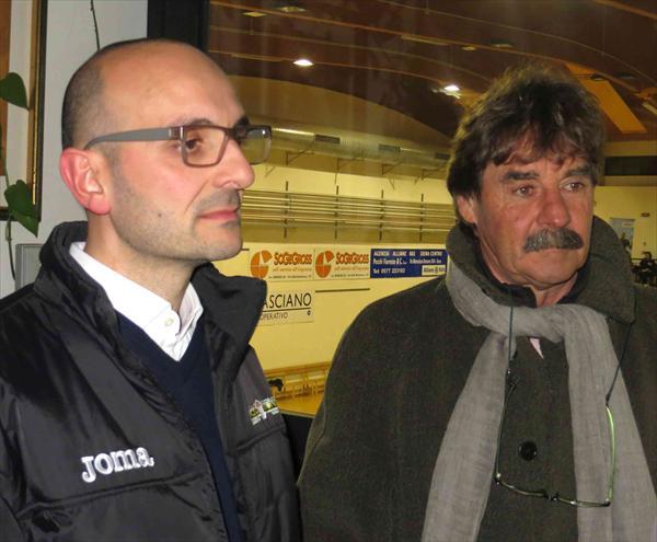 Pierfrancesco Binella e Massimo Morgia