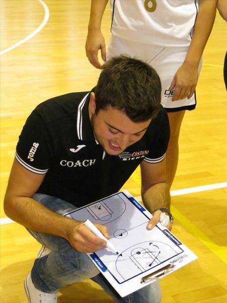 Coach Marco Castaldo