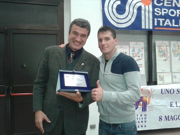 Igor Cassina con Roberto Bruttini