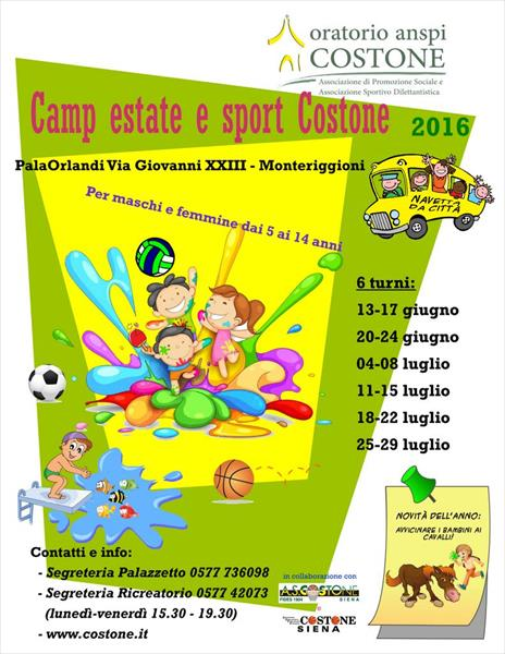 Camp 2016 manifestino