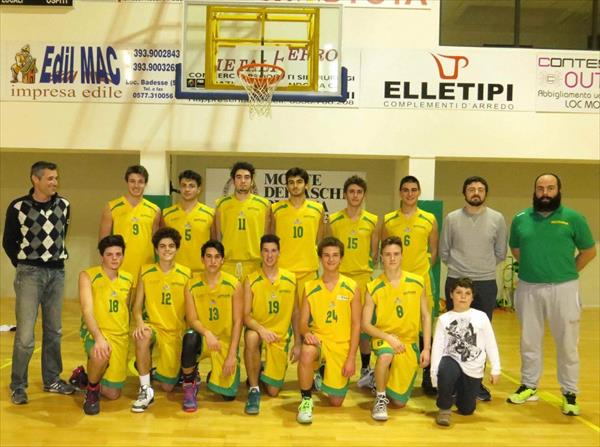 La squadra Under 18-B  del Costone
