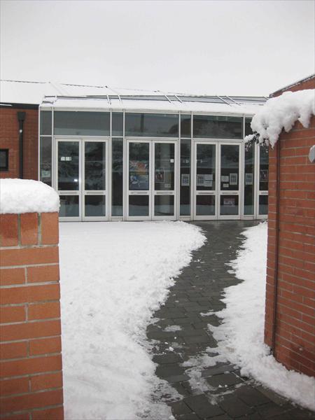 La prima neve al PalaCostone