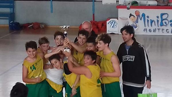 U13 Torneo Montecatini - Il Costone alza la coppa