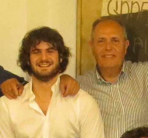 Giovanni Toscano e Sergio Catoni