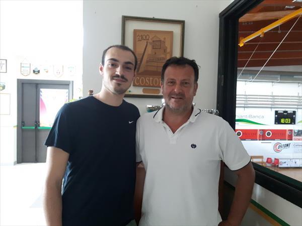 Valerio Angeli con Braccagni