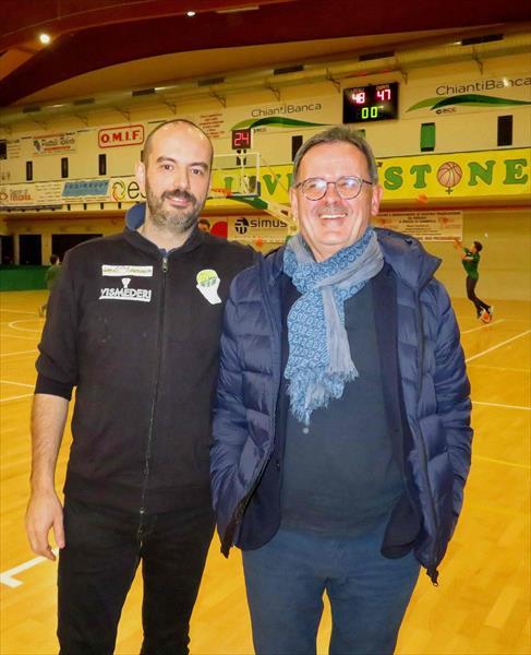 I presidenti Montomoli e Bianchi a fine gara