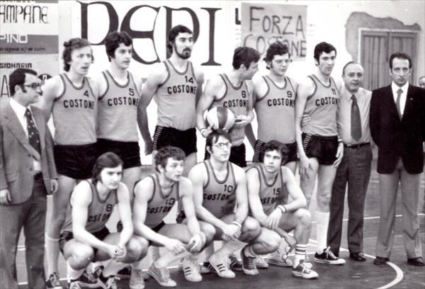 1972-73 - Squadra del Costone promossa in Serie B