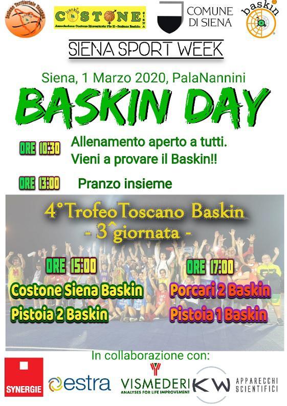 Locandina Baskin Day