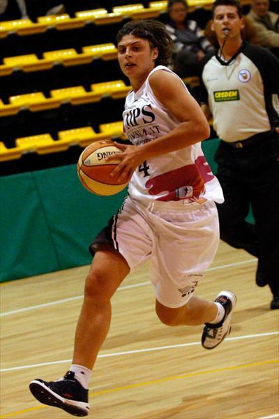 Cristina Consolini in azione