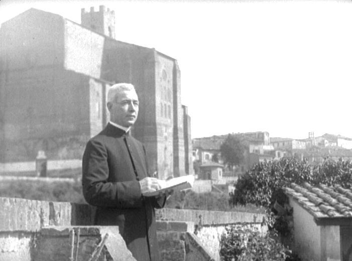 Mons. Nazareno Orlandi foto d'epoca