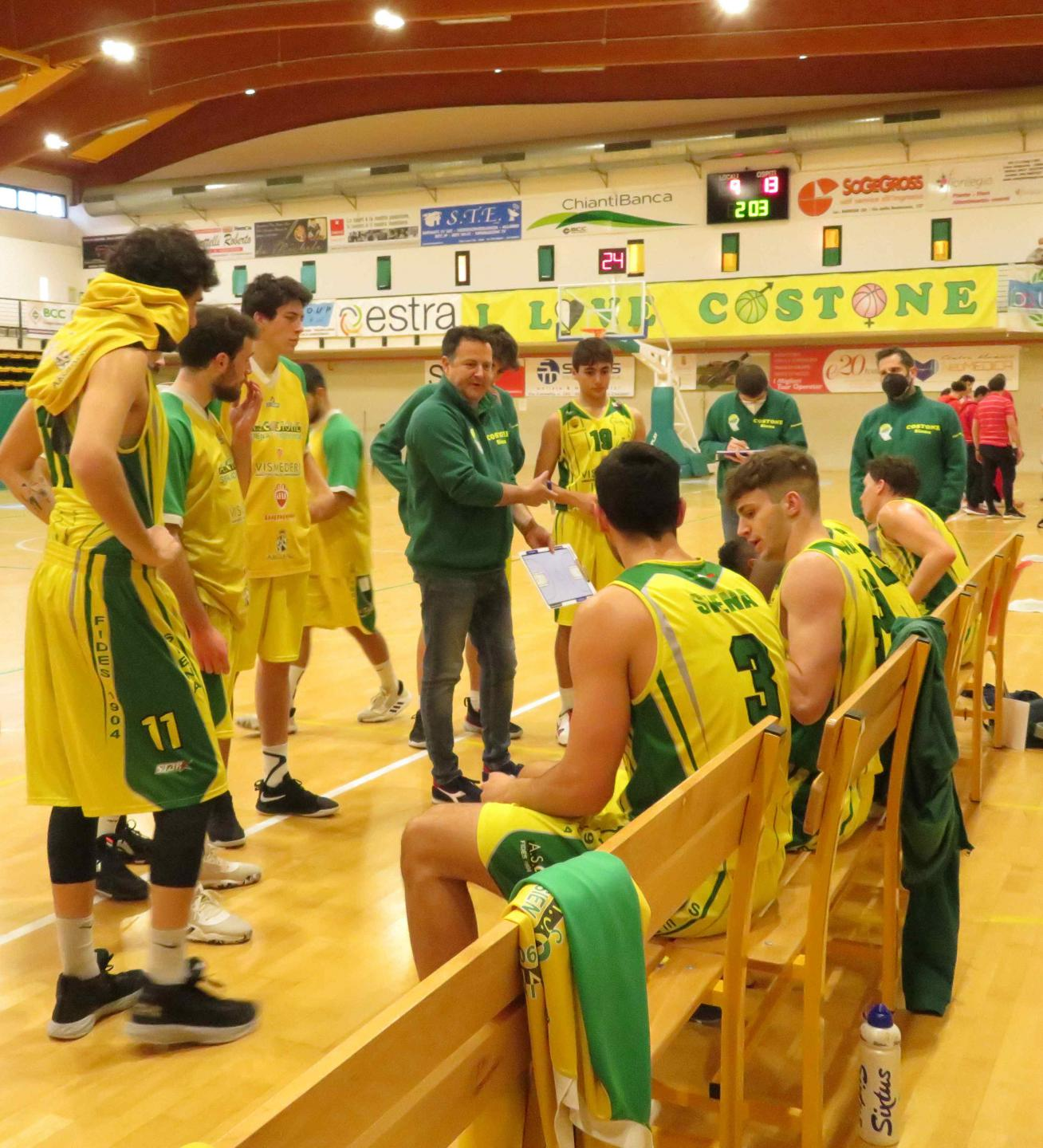 Coach Braccagni Time Out